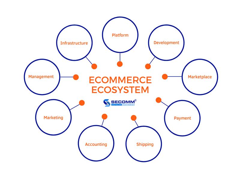 ecommerce ecosystem components